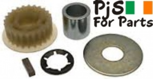 Belle Pulley gear Kit for Mixer with Honda G100 engine fitted
