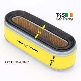 Honda Air Filter for HR194,HR21 and others