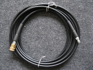 Pressure washer hose QCM x QCF 25ft