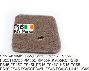 Stihl air filter FS55, FS55C, FS55R, FS55RC,