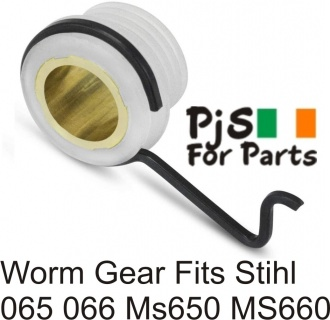 Stihl worm gear 065,066,MS650,MS660