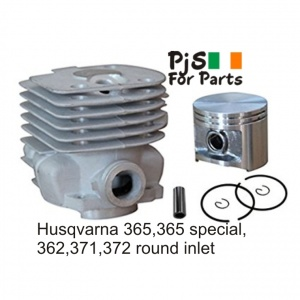 Husqvarna 365 cylinder kit round inlet