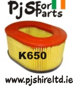 Partner K650 air filter element