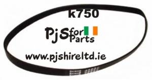 Partner/Husqvarna K750/K760 Drive Belt