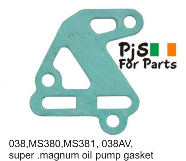 Stihl 038,MS380,MS381,038AV oil pump gasket
