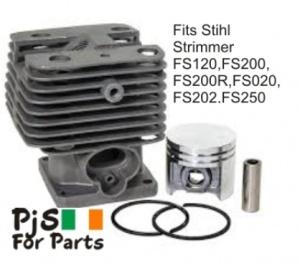 Stihl Cylinder kit for FS102 FS200 FS200R FS020 FS202 FS250