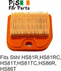 Stihl Air filter  HS81R, HS81RC, HS81T, HS81TC, HS86R & HS86T.