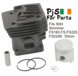 Stihl Cylinder Kit Fits FS160,FS220,FS220K 35mm