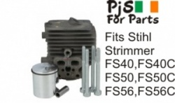 Stihl Cylinder Kit for  FS40,FS40C,FS50,FS50C,FS56,FS56C and others