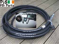 Pressure washer hose Quick Connect Large