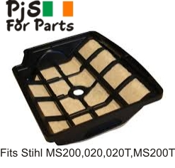 Stihl air filter MS200, 020, 020T ,MS200T