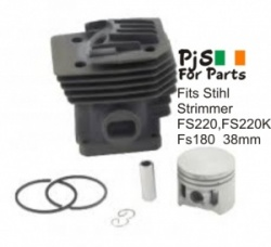 Stihl Cylinder kit fits  FS220,FS200K,FS180 38mm