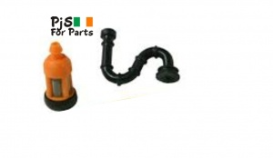 TS400 Tank Fuel Hose and filter